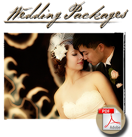 Studio 9 - Wedding Packages, Pricing